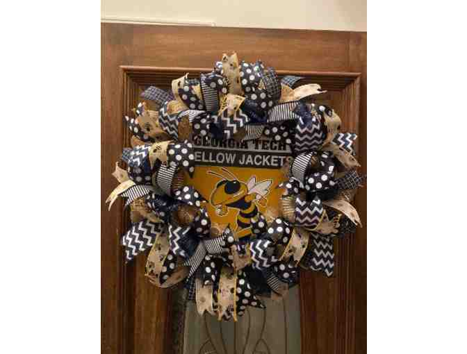 Georgia Tech Yellow Jackets Wreath