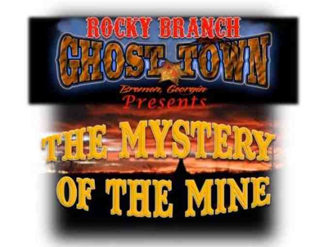 (4) Tickets for Haunted Trail at Rocky Branch Old West Ghost Town