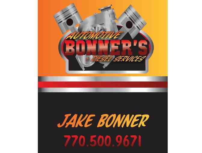 (1) Oil Change at Bonner's Automotive & Diesel Services