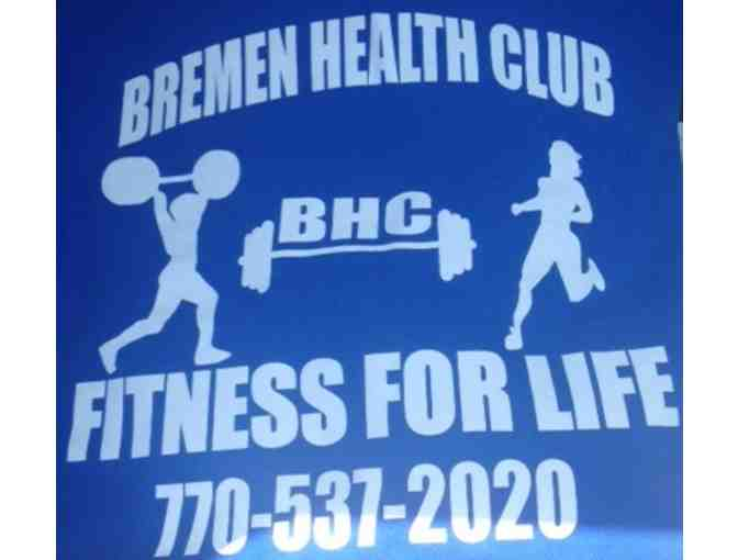 (1) Month Membership to Bremen Health Club