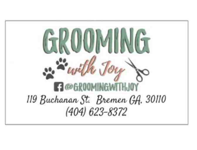 $25 Gift Card for Pet Grooming Services