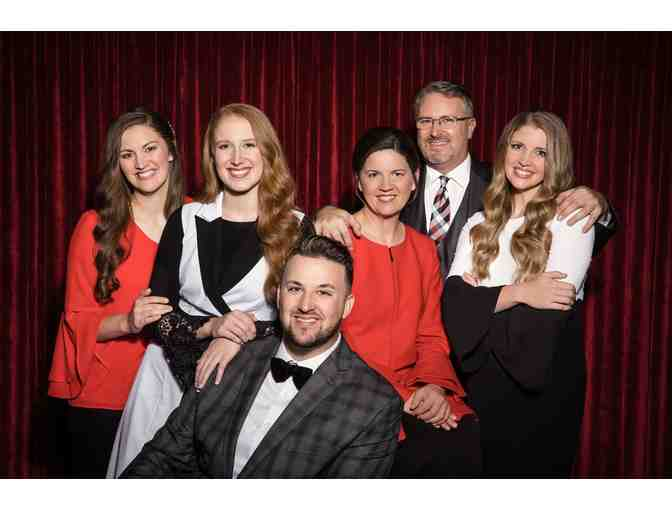 (4) Christmas With The Collingsworth Family Premium Tickets at Mill Town Music Hall - Photo 1