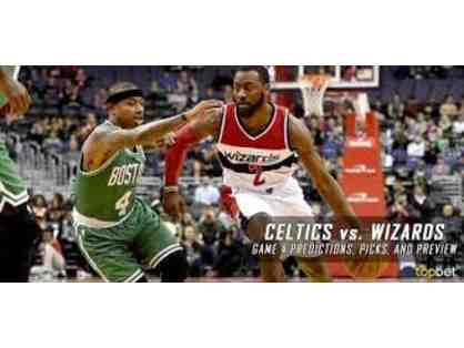Calling All Basketball Fans - Four Great Seats - Wizards vs. Celtics