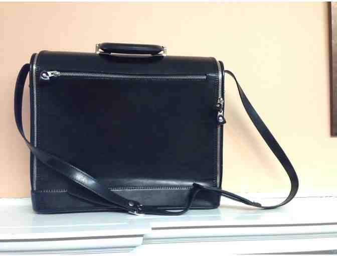 Pratesi Raffaello Italian Leather Briefcase - Photo 3