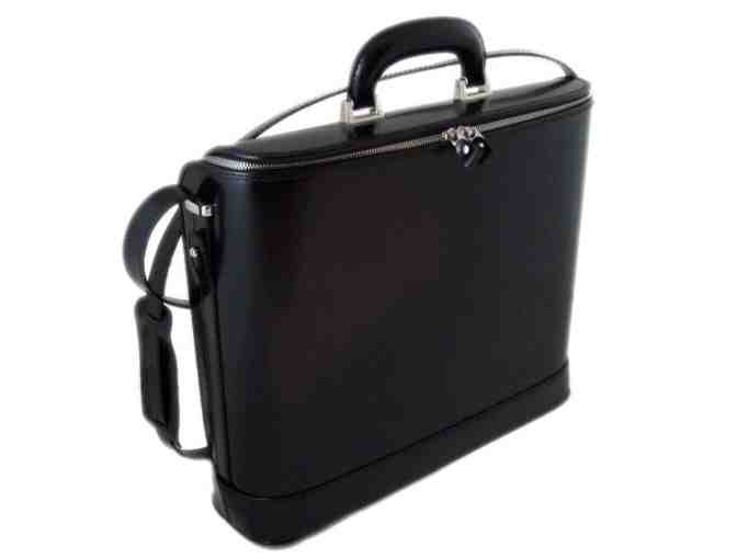 Pratesi Raffaello Italian Leather Briefcase - Photo 1