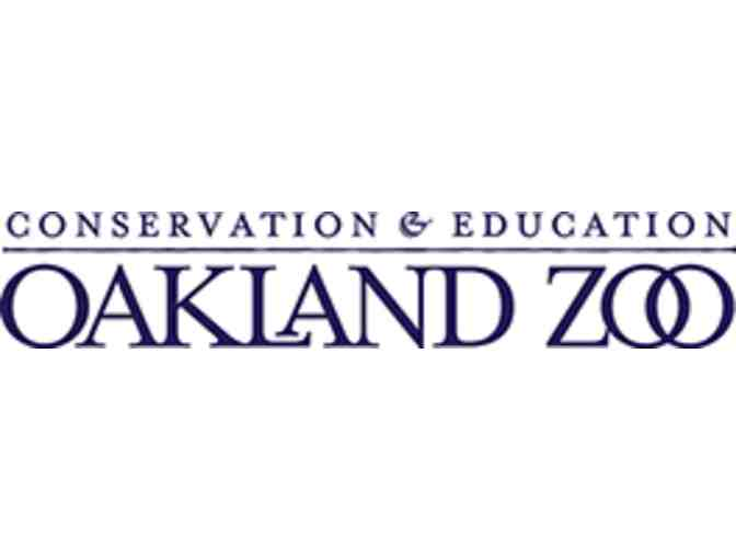 Oakland Zoo Family Pass