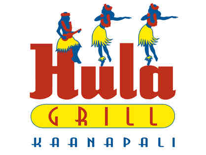 $100 gift certificate to Hula Grill Kaanapali (Maui)