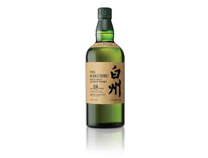 Bottle of Hakushu 18 Years Old