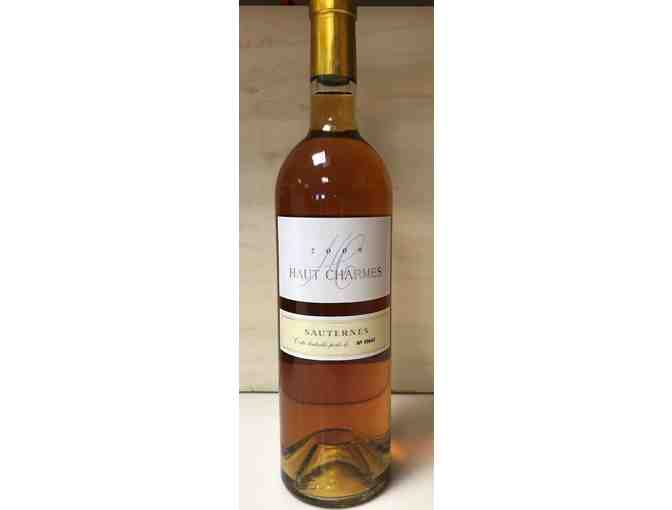 WINE: 1 bottle of Chateau Haut Charmes Sauternes 2009