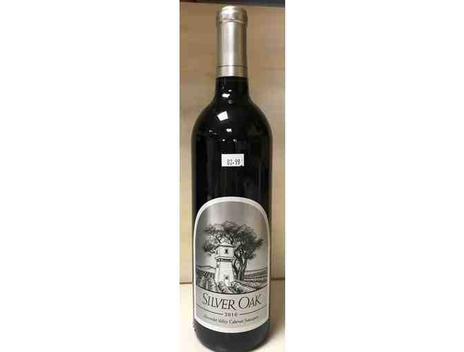 WINE: 1 bottle of Silver Oak Cellars Cabernet Sauvignon Alexander Valley 2010