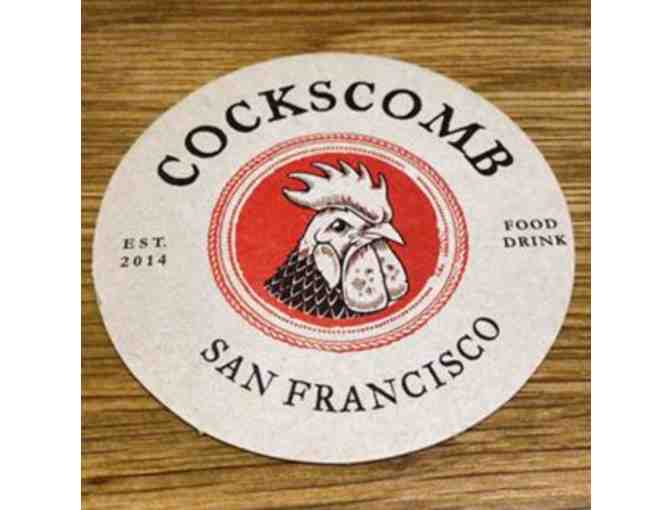 $200 Gift Card to Cockscomb Restaurant and more! (San Francisco) - Photo 1
