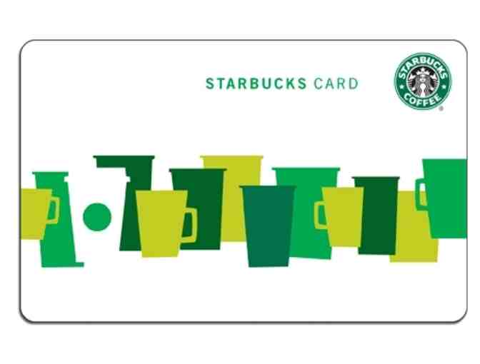 $50 in Starbucks Gift Cards - Photo 1