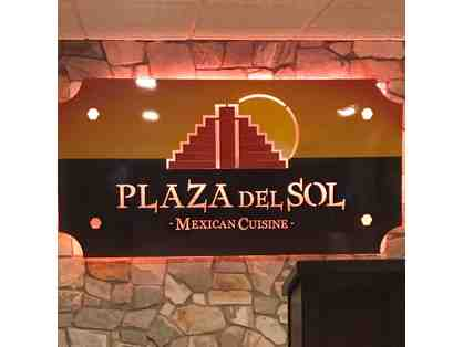 $20 Plaza del Sol Gift Certificate, Delicious Mexican Cuisine! (2 of 3)