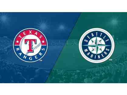 4 Texas Rangers vs. Seattle Mariners Tickets