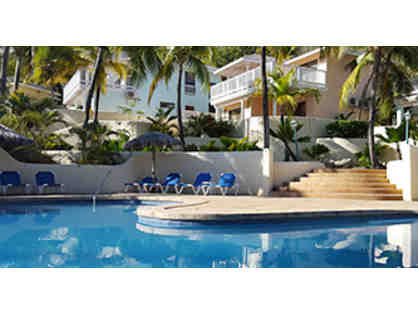 Enjoy 7 nights of Beachfront resort in St. Jame's Club, Antigua