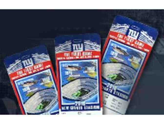 A Pair of NY Giants Pre-Season Tickets and Parking Pass - Photo 1