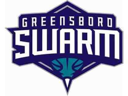 Greensboro Swarm - 4 Center Club Tickets with 1 Parking Lot