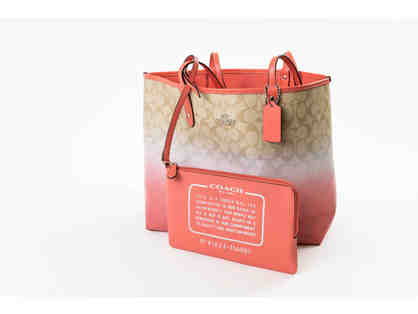 Coach Tote Bag - Peach