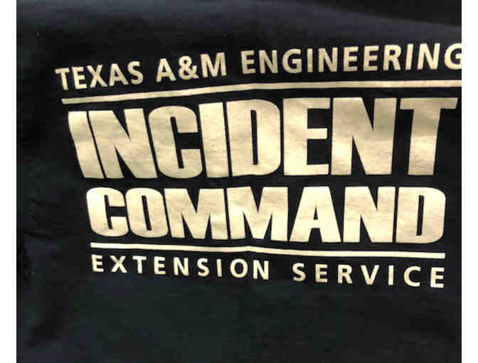Texas A&M Engineering Extension Service Incident Command T-Shirt