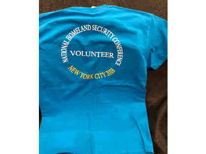 National Homeland Security Conference 2018 T-Shirt - Size-Medium