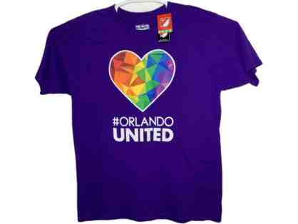 Orlando United Heart T-Shirt - Size XL