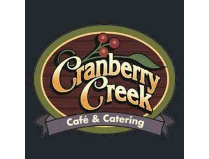 $100 to Cranberry Creek Cafe & Catering - Photo 1