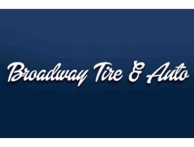 Three oil changes from Broadway Tire & Auto in Monona