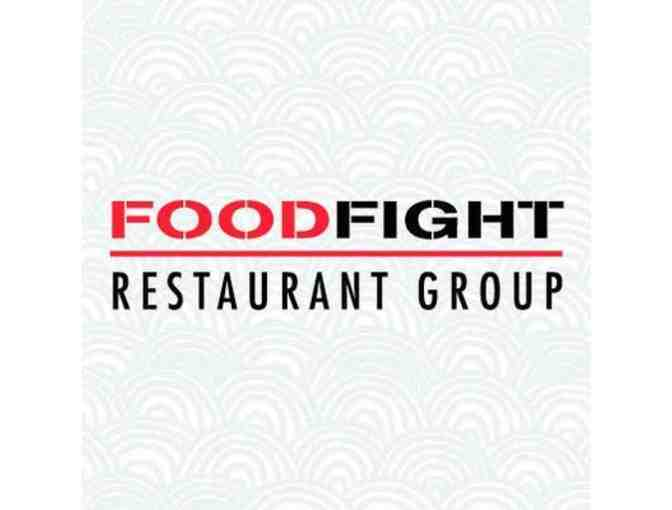 $250 to Food Fight Restaurants