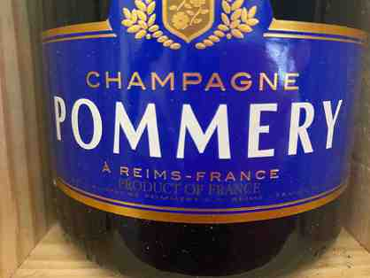 Chanpagne - Pommery Brut Royal , French (1.5 Liter Magnum) in box