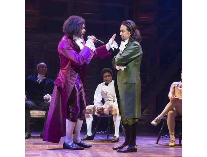 2 House Seats for HAMILTON, The Musical!