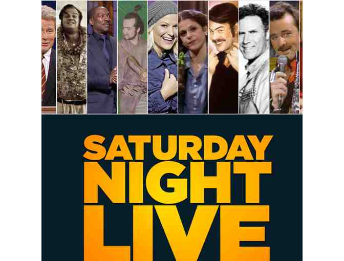 2 Tickets to SATURDAY NIGHT LIVE - Final dress rehearsal!