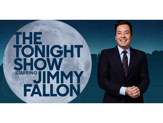 2 VIP Tickets to THE TONIGHT SHOW WITH JIMMY FALLON