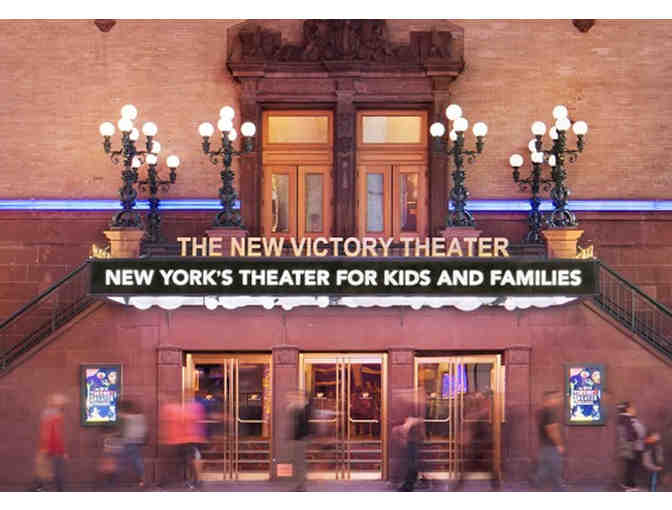 Theatre for the Whole Family - 2 Tickets to New Victory Theater & dinner