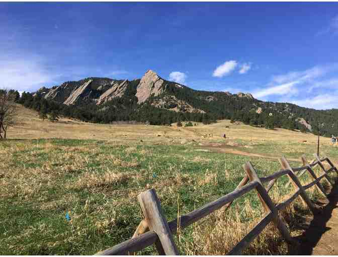 Guided hiking in Boulder, Colo.