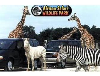 VIP Car Pass for up to 8 Guests at the African Safari Wildlife Park - Photo 1