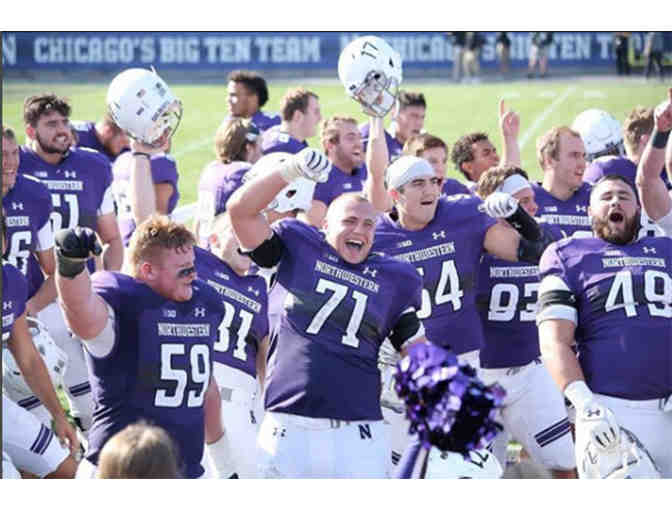 4 Tickets to a Northwestern Wildcats Football Game