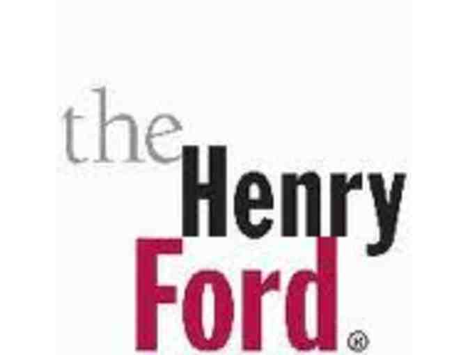 Four admissions to the Henry Ford Museum or Greenfield Village