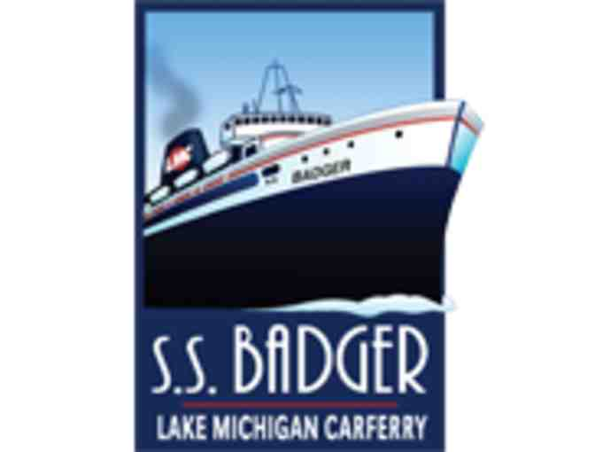 Two Round Trip Tickets on the S.S. Badger