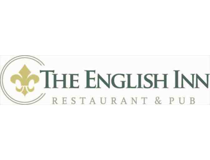 Gift Certificate for One Night Stay in the Chelsea Room at the English Inn