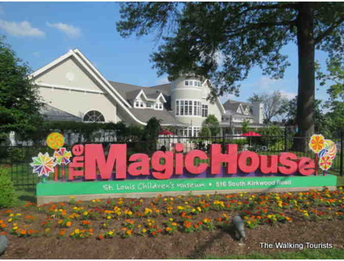 Four General Admission Tickets to The Magic House, St. Louis Children's Museum - Photo 1