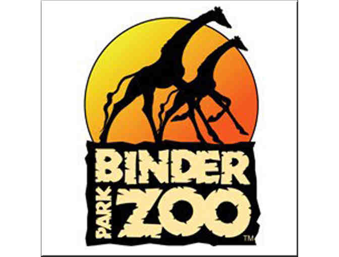 Two Adult and Two Child Admission Passes to the Binder Park Zoo