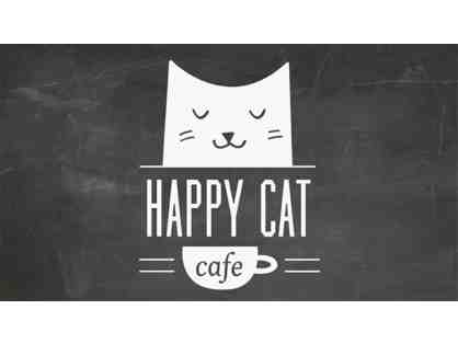 4 Passes to Happy Cat Cafe