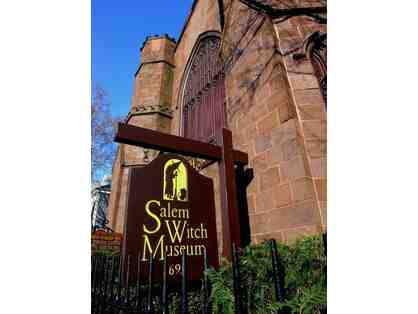 6 Tickets to Salem Witch Museum