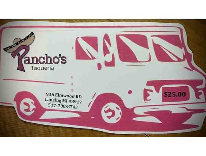$25 Gift Card to Pancho's Taqueria - Photo 1