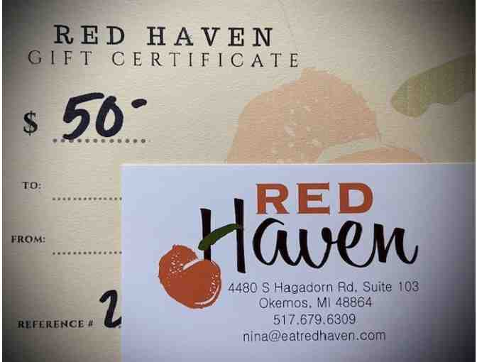 $50 Gift Card to Red Haven Restaurant - Photo 1
