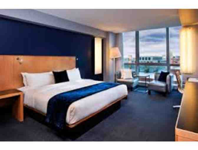 1 Night Stay and Breakfast for 2 at the W Boston Hotel