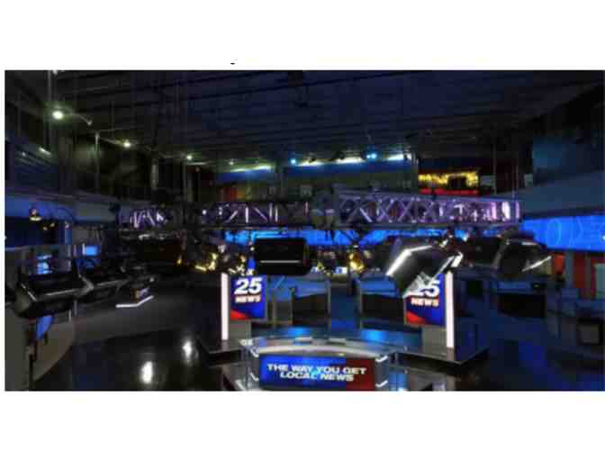 Boston 25 News Studio - VIP Tour