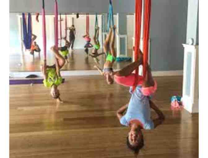 Private Aerial Lesson for four kids with Ms. Charlotte Menna
