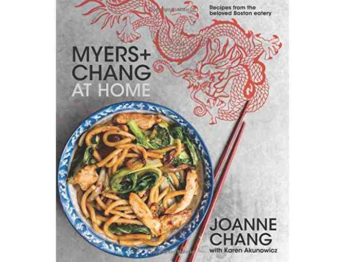 Autographed copy of 'Myers + Chang At Home'