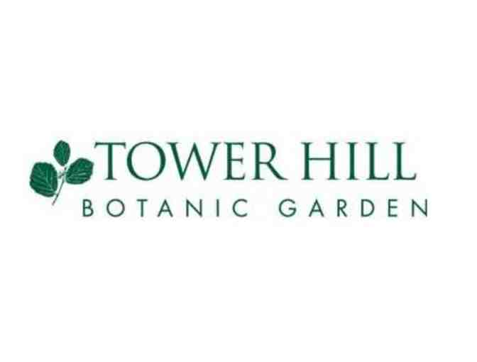 2 Tickets to Tower Hill Botanic Garden